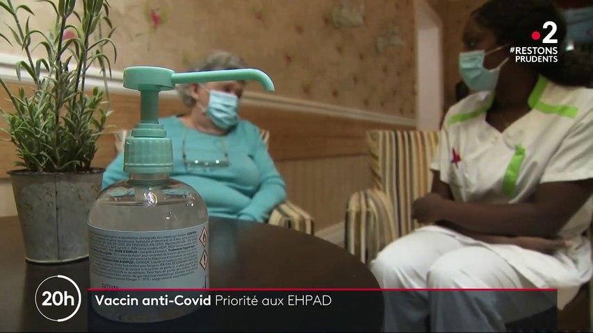 Coronavirus : une vaccination destinée en premier lieu aux EHPAD