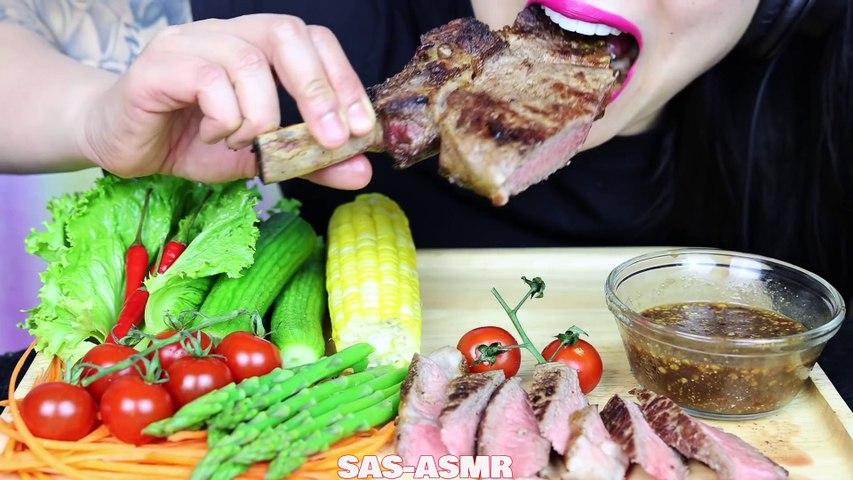 Asmr Tomahawk Steak Fresh Veggies Thai Dipping Sauce Eating Sounds No Talking Sas Asmr Video Dailymotion Amel abi 28 днів тому. dailymotion