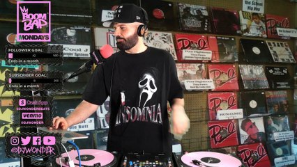 DJ Wonder - Boom Bap Mondays - 11-30-20