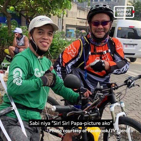 This one-legged PWD delivery app rider is also training for the national sailing team