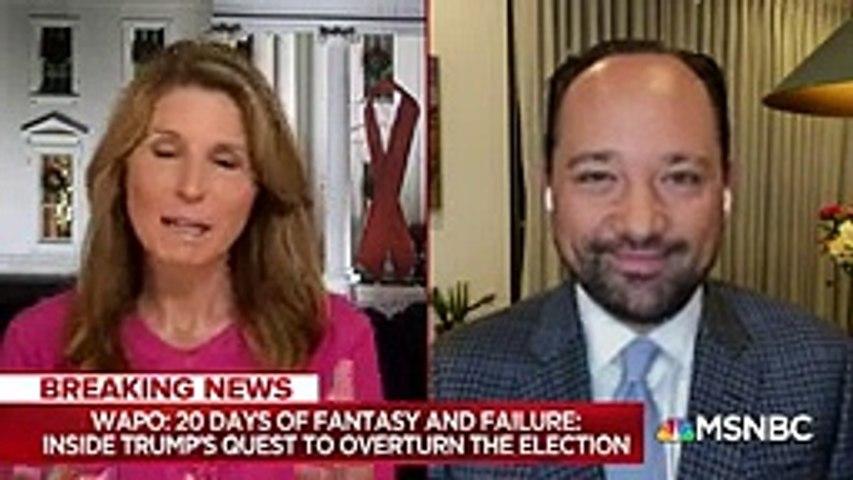 Washington Post Reporting Describes Trump In Denial Over His Election Loss