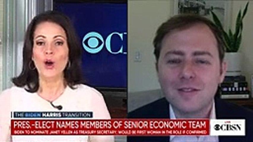 President-elect Biden names senior members of economic team