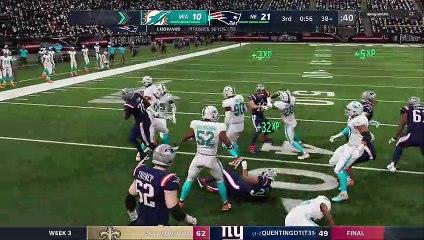Pats vs Dolphins - Week 2