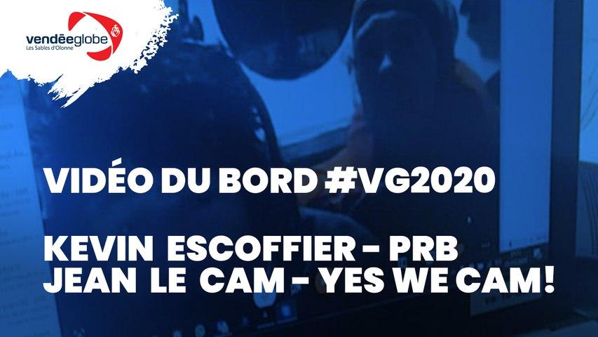 Vidéo du bord - Sauvetage de Kevin Escoffier | PRB by Jean LE CAM | YES WE CAM! - 01.12 (2)