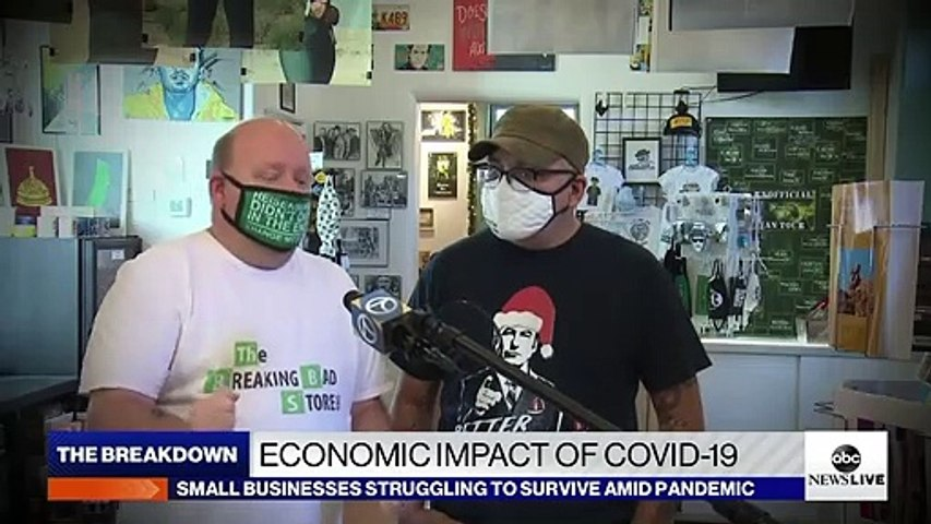 Economic impact of COVID-19 on small businesses