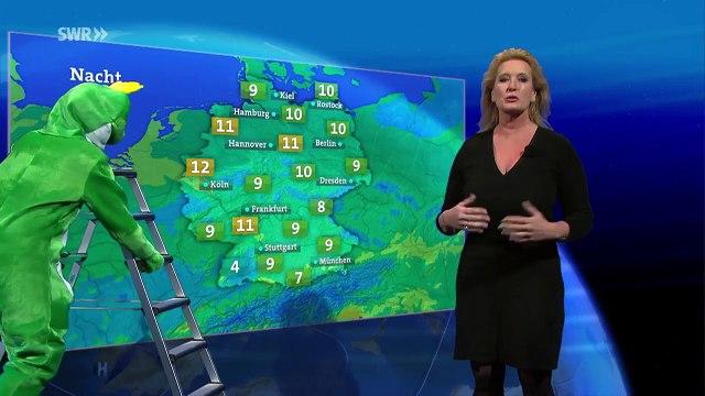 Das Wetter im Ersten mit Claudia Kleinert