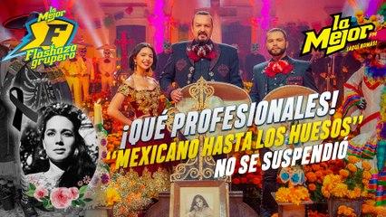 """Como profesional, Pepe Aguilar no cancela concierto """"Méxicano hasta los huesos"""" a pesar de la muerte de su mamá"""