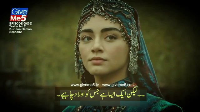 Kurulus Osman Season 2 Episode 36 Trailer with urdu subtitles kurulus osman episode 36 with urdu subtitles