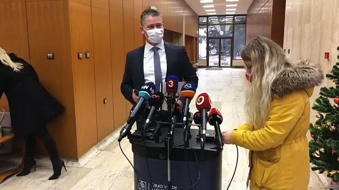 ZÁZNAM: Brífing ministra vnútra R. Mikulca