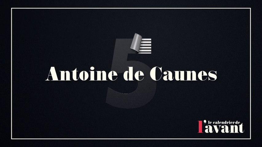 #5 -Antoine de Caunes et José Garcia dans Nulle Part Ailleurs - Calendrier CANAL+