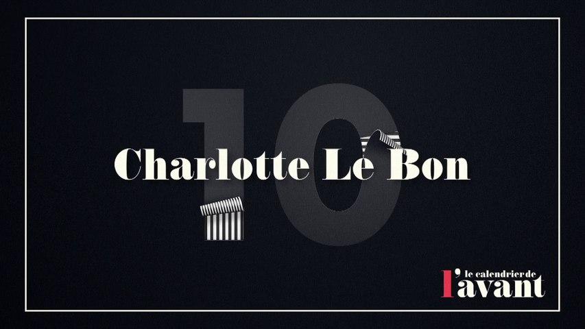 #10 - Charlotte Le Bon en Miss Météo du Grand Journal - Calendrier CANAL+