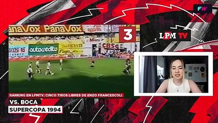 Ranking: los mejores tiros libres de Enzo Francescoli