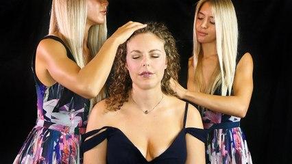 ASMR Scalp Massage & Close Whispers, Sleepy Spa Hair Play for Sleep & Relaxation, Beauty, Accents