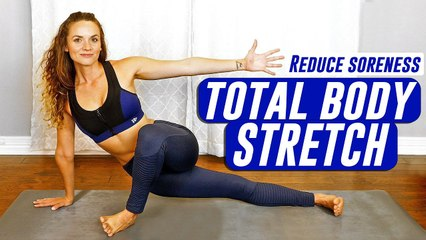 10 Minute Full Body Stretch Routine, Daily Flexibility Exercises for a Healthy, Fit Body