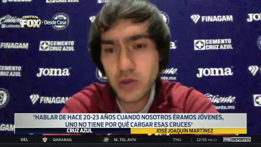"""""""Uno no tiene por qué cargar esas cruces"""", José Martínez: Liga MX"""