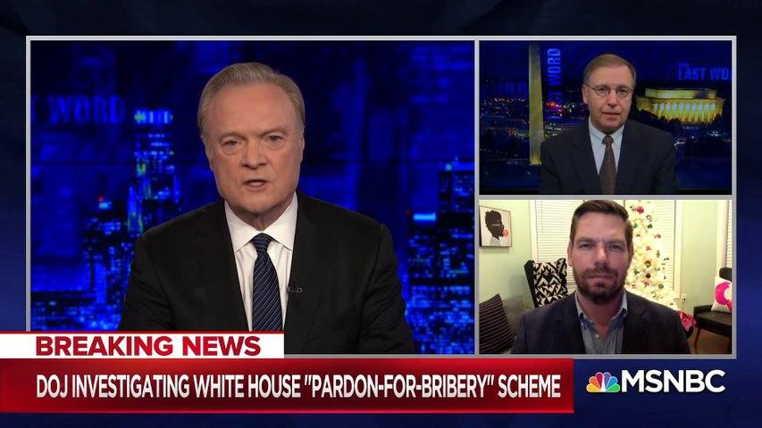 DOJ Investigating 'Bribery-For-Pardon' Scheme