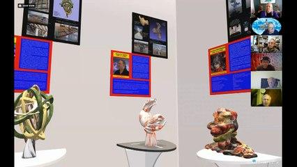 INTERSCULPT 2020&1 - Inauguration sur le Web - 5 déc 2020 - 1ère partie