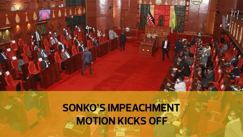 Sonko impeachment motion kicks off