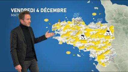 Illustration de l'actualité La météo de votre vendredi 4 décembre 2020 et la tendance