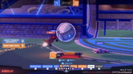 Rocket League Match: St.Francis VS. New York Tech Highlight 5