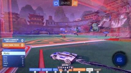 Rocket League Match: St.Francis VS. New York Tech Highlight 2
