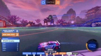 Rocket League Match: St.Francis VS. New York Tech Highlight 7