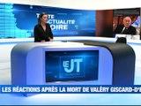A la Une : Les réactions après la mort de VGE / Les modalités de la campagne de dépistages / La Loire Terre de Jeux 2024 - Le JT - TL7, Télévision loire 7