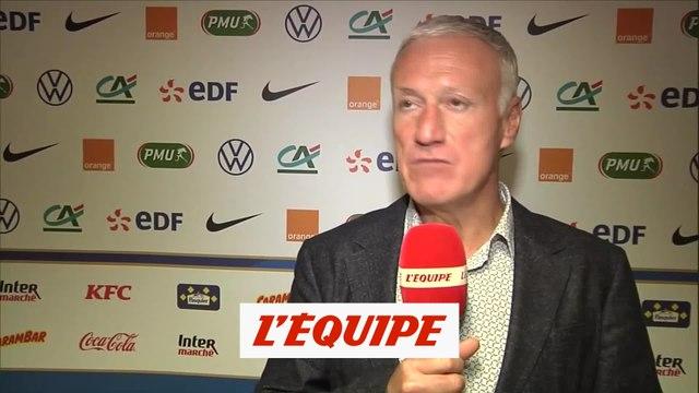 Deschamps : «La Belgique est l'équipe la plus compétitive» - Foot - Bleus