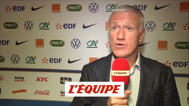 Deschamps : «Mbappé fait toujours des différences» - Foot - Bleus