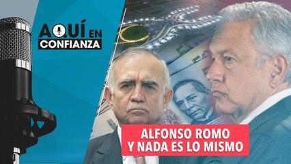 Alfonso Romo y nada, es lo mismo