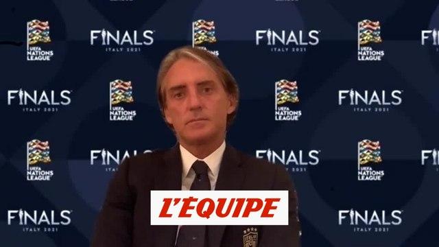 Mancini : «La demi-finale contre l'Espagne sera imprévisible» - Foot - Ligue des nations - ITA