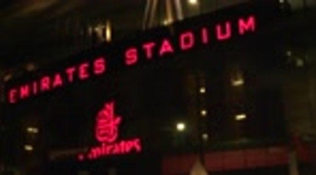 Groupe B - Les fans d'Arsenal heureux de retrouver les tribunes