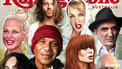 Behind the Cover: How Debb Oliver illustrated the Dec 2020 cover of Rolling Stone Australia
