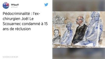 Pédophilie: Le Scouarnec condamné à 15 ans de réclusion criminelle