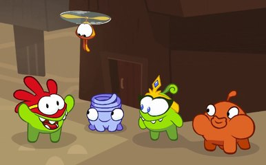 Om Nom Stories: Super-Noms - Friends to the Rescue - Funny cartoons for kids