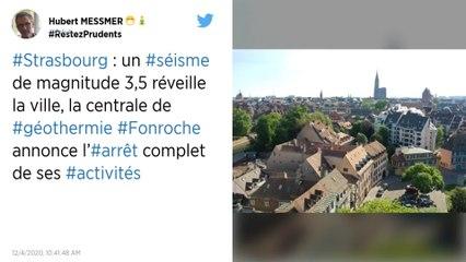 Un nouveau séisme réveille l'agglomération de Strasbourg