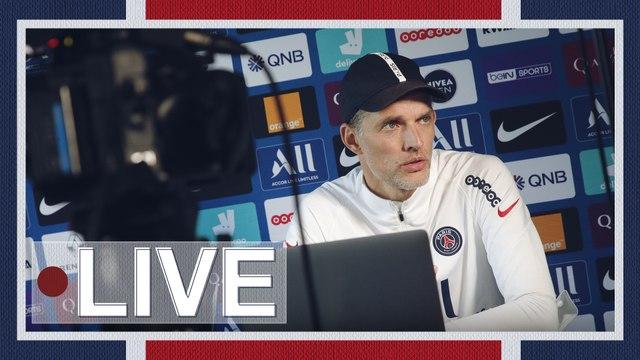 Replay: Conférence de presse de Thomas Tuchel avant Montpellier - Paris saint-Germain