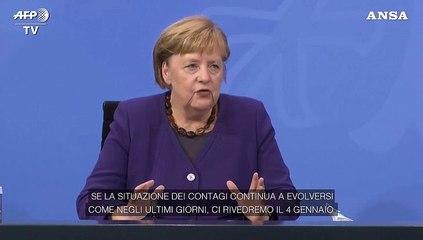 Covid, la Germania prolunga il semi-lockdown fino al 10 gennaio