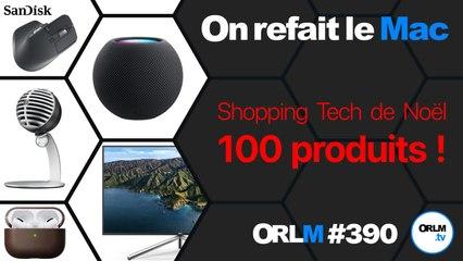 Shopping Tech de Noël - 100 produits - 1P ⎜ORLM-390