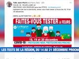 À LA UNE : de jeunes Stéphanois interpellent le Président Macron / une centaine d'évènements ligériens pour le Téléthon / le Département de la Loire prêt à affronter la neige / les Verts conquérants avant Dijon. - Le JT - TL7, Télévision loire 7