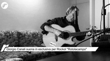 """Giorgio Canali suona in esclusiva per Rockol il brano """"Rotolacampo"""""""