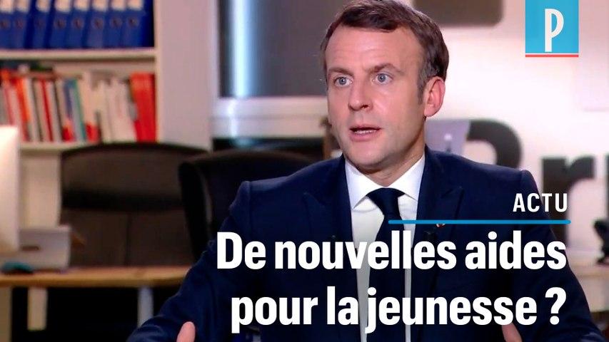 Emmanuel Macron veut « regarder comment améliorer le système de bourses »