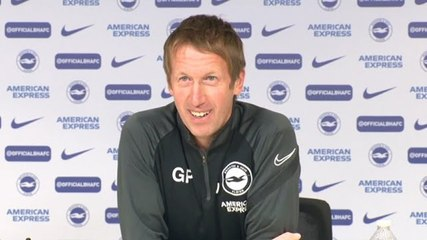 """""""We hope we can use the support"""" Graham Potter on Brighton's South Coast derby against Southampton"""