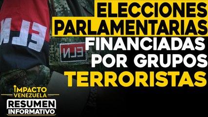Parlamentarias financiadas por grupos TERRORISTAS    NOTICIAS VENEZUELA HOY diciembre 5 2020