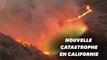 Bond fire: la Californie encore ravagée par un incendie