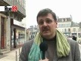 Régis Bertrand, candidat PS à Clamecy