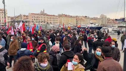 Marseille. Des centaines de personnes mobilisées contre la loi de sécurité globale et en hommage à Z