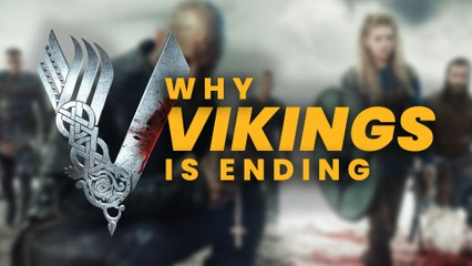 VIKINGS - Why is it Ending?? MICHAEL HIRST Talks Season 6B & His Choice to Finish the Show