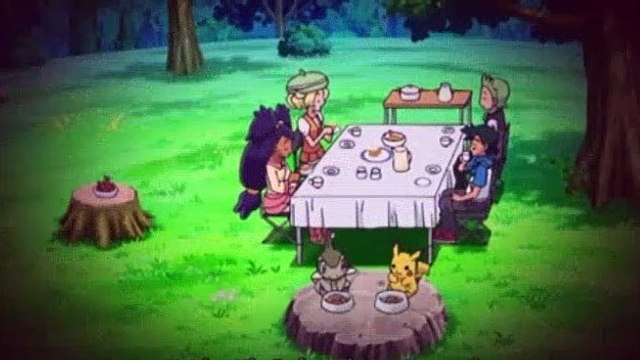 Pokemon S14E27 Beware Of The Cute Face! Paralyzed By Emonga!!