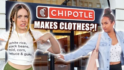 Trying Chipotle's New Clothing Line?! Worth It?